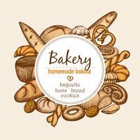 Vintage Bäckerei Frame
