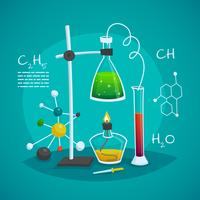 Chemical Laboratory Workspace Design Concept
