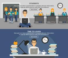 Studentenfahnensatz