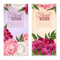 Floral Design Banners Set