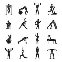 Conjunto de treino preto e branco