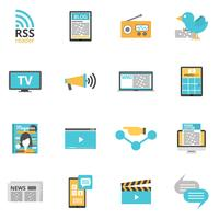 Inställningar för medietikoner