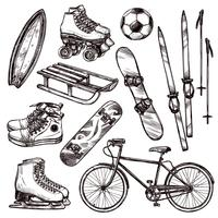 Sport Equipment Set