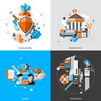 Banque Concept Icons