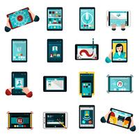 Phablet Icons Set