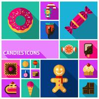 Candy Icons Set