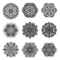 Decoratieve Mandala's Set