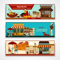 Shops Banner Set vector