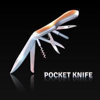 Fond de couteau de poche