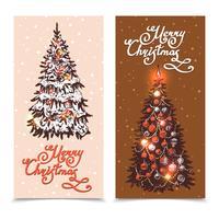 Conjunto de Banner de Natal