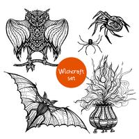 Witchcraft Doodle Set