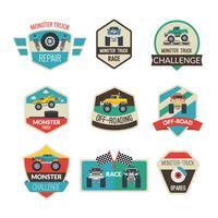 Monster Truck-emblemen