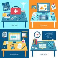 Set di spazi di lavoro