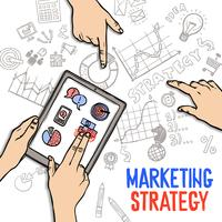 Concetto di strategia di marketing