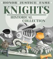 Chevalier affiche Illustration