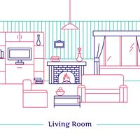 Living Room Line Design