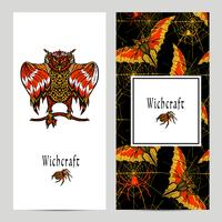 Witchcraft Magic Banner Set