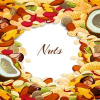 Nuts Mix Background