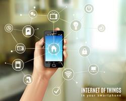 Internet der Dinge Konzept