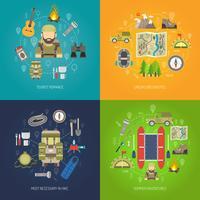 Set di piatti turistici