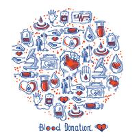 Donor Icons Circle vector