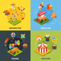 Conceito de design de carnaval