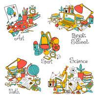 Back To School Decorative Set