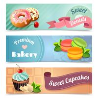 Bakery Banners Set