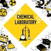 Laboratorium hoek concept