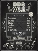 Tableau Grill Menu