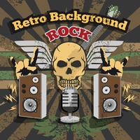 Retro Rock Background