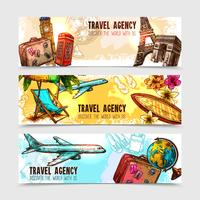 Travel Banner Set