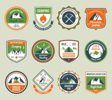 Mountain Adventure Emblems