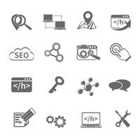SEO Marketing Icons Set