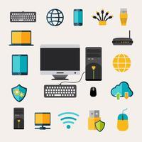 Set di gadget di rete