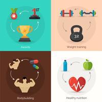 bodybuilding platt uppsättning