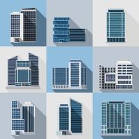 Set di edifici per uffici