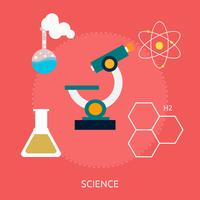 Science Conceptual illustration Design