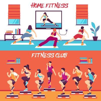 Fitness Club Clip Art