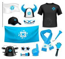 Sport Club Fans  Accessories Realistic Set