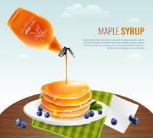Maple Syrup Concept
