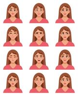Female Go-to Faces Set