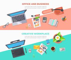 Workplace Office Horizontal Banners