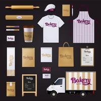 Panificio Corporate Identity Template Design Set