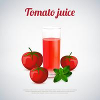 Tomatjuice Illustration