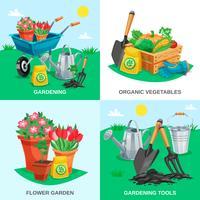garden 2x2 design concept