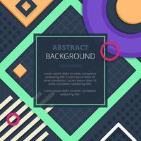 Abstract Notice Board Cover Background Design
