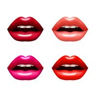 Woman Lips Set