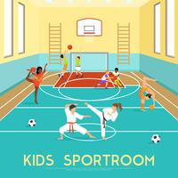 Poster Of Kids Sportroom