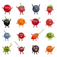 Funny Berries Cartoon Characters